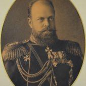 FS212 pencil portr.Alexander III - r